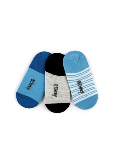 Mickey Mouse Mickey 6'lı Sneaker Çorap 15970 Renkli